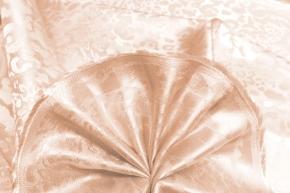 Futterjacquard -  Paisley, rosebeige