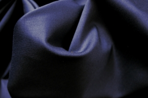 Baumwollmischung - nachtblau