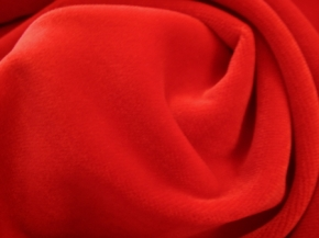 Baumwollsamt - rot