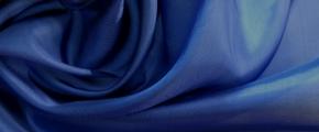 Futtertaft - saphirblau