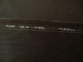 Flanell - schokofarben