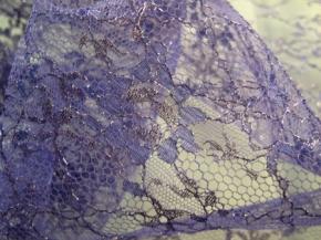 Spitze - Riechers Marescot, lila