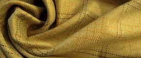 Kaschmir - beige mit Überkaro