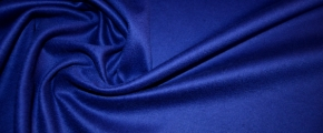 Rest Kaschmirmischung - königsblau