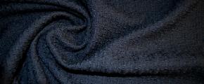 Bouclé - nachtblau
