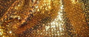 Paillette - 30 cm gold